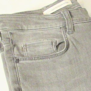 Anthropologie Jeans - Pilcro Gray Stretch Skinny High-Rise Jeans 32T